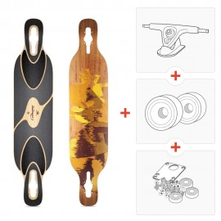 Pack Longboard Loaded Dervish Sama ( Axes et roues à choisir )