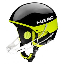 Casque de ski Head Stivot Youth Sl + Chinguard Black 2017328204