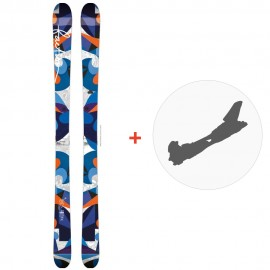 Ski Faction Heroine 2015 + Bindings