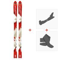 Ski Dynastar Cham Alti 79 2014 + Fixations randonnée + PeauDACL101