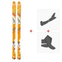 Ski Dynastar Cham Alti 89 2014 + Fixations randonnée + Peau