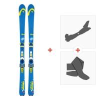 Ski Head Nebula 78 2014 + Fixations randonnée + Peau