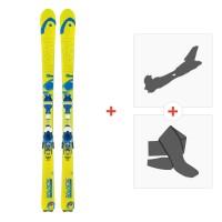 Ski Head Galactic 84 2014 + Fixations randonnée + Peau