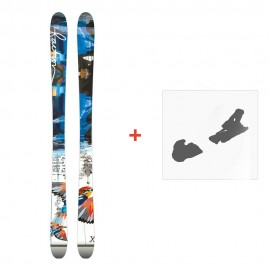 Ski Faction Ambit 2015 + Fixations de ski