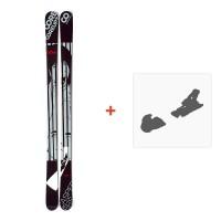 Ski Coreupt The Caspers 2012 + Fixation de ski