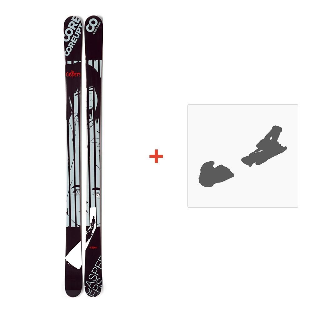 ski coreupt the caspers 2012 fixation de ski coreupt. Black Bedroom Furniture Sets. Home Design Ideas