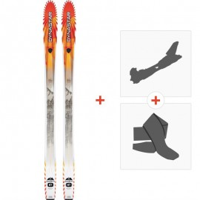 Ski Dynastar Cham 87 2014 + Tourenbindung + Felle