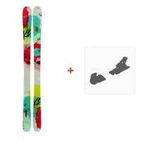 Ski K2 Missconduct 2014 + Fixation de ski