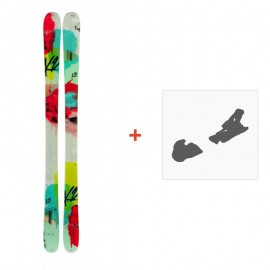 Ski K2 Missconduct 2014 + Ski Bindings