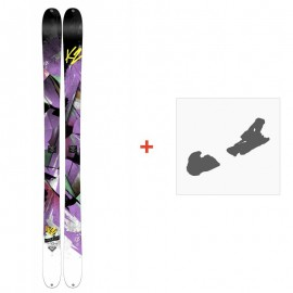 Ski K2 Remedy 92 2015 + Fixation de ski