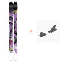 Ski K2 Remedy 92 2015 + Fixation de ski