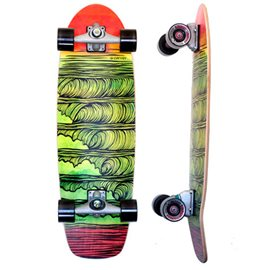 "Surf Skate Carver Stacked 31.25\"" Complete"