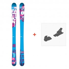Ski Faction Dillinger 2014 + Fixation de ski