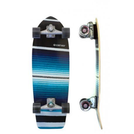 "Surf Skate Carver Serape 29.75"" Complete"