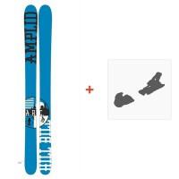 Ski Amplid The Hill Bill 2015 + Fixation de skiA-30000