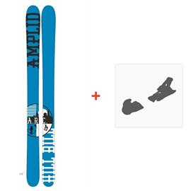 Ski Amplid The Hill Bill 2015 + Fixation de ski
