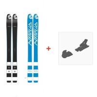 Ski Amplid Ego trip evolution 2015 + Fixation de ski