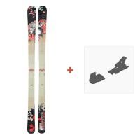 Ski Dynastar 6th Sense Spin 2010 + Fixation de ski