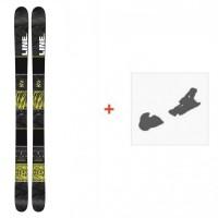 Ski Line Gizmo 2016 + Fixation de ski