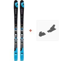 Ski Dynastar Powertrack 79 Carbon Fluid X + NX 11 FLUID B83 BLACK BLUE 2015