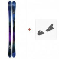 Ski K2 Sight 2016 + Fixation de ski