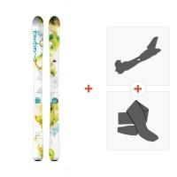 Ski Faction Agent 90 W 2016 + Fixations randonnée + Peau