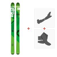Ski Faction Agent 100 2016 + Fixations randonnée + Peau