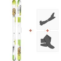 Ski K2 Wayback 88 2016 + Fixations randonnée + Peau
