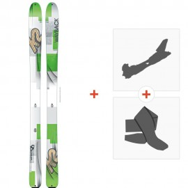 Ski K2 Wayback 96 2016 + Alpine Touring Bindings + Climbing skin