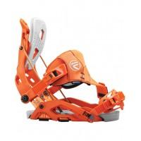 Fixation Snowboard Flow Fuse Hybrid Orange 2016
