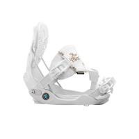 Fixation Snowboard Flow Minx Hybrid White 2016