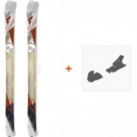 Ski Nordica Nemesis 2015 + Fixation de ski0A422600.001