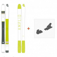 Ski Amplid Ego trip evolution 2016 + Fixation de ski