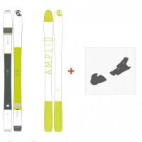 Ski Amplid Ego trip evolution 2016 + Skibindungen