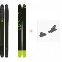 Ski Amplid Infrablack 2016 + Fixation de ski