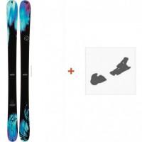 Ski K2 Remedy 102 2014 + Fixation de ski