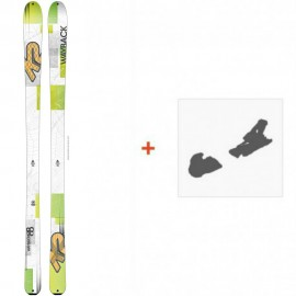 Ski K2 Wayback 88 2016 + Ski Bindings