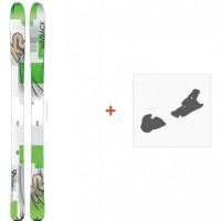 Ski K2 Wayback 96 2016 + Fixation de ski