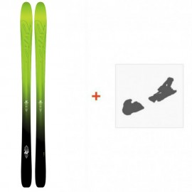 Ski K2 Pinnacle 95 2017 ( OCCASION ) + Fixation de ski