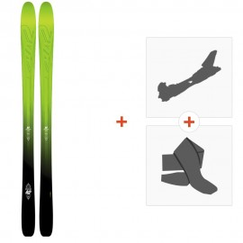 Ski K2 Pinnacle 95 2016 + Alpine Touring Bindings + Climbing skin