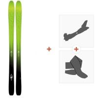 Ski K2 Pinnacle 95 2016 + Tourenbindung + Felle