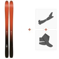 Ski K2 Pinnacle 105 2016 + Fixation de ski