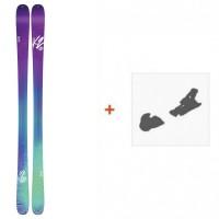 Ski K2 MissConduct 2016 + Fixation de ski