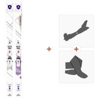 Ski Dynastar Cham 2.0 Women 87 2017 + Fixations randonnée + Peau