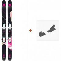 Ski Dynastar Cham 2.0 Women 107 2017 + Fixation de ski