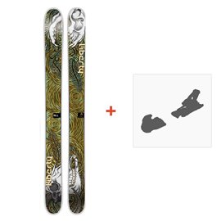 Ski Liberty Double Helix 2014 + Fixation de ski