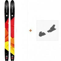 Ski Dynastar Cham High Mountain 107 2015 + Fixation de skiDADK501
