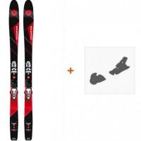 Ski Dynastar Cham 2.0 87 2017 + Fixation de ski