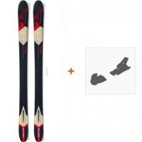 Ski Nordica Nrgy 100 2016 + Fixation de ski0A422400.001