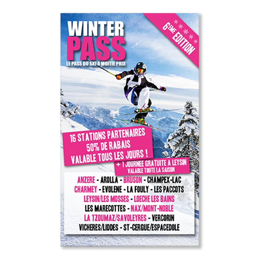 Winter Pass Edition 2017-2018 !